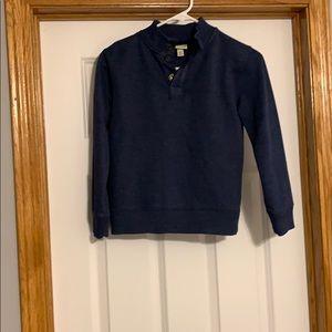 Navy pullover for boys